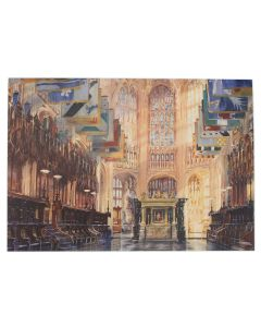 Henry VII Lady Chapel by Alexander Creswell Greetings Card