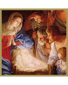 Guido Reni Adoration of the Shepherds Christmas Card Pack