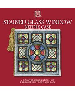 Stained Glass Needle Case Cross Stitch Kit