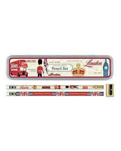 Vintage London Pencil Set