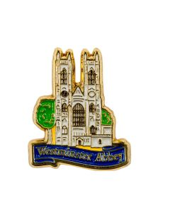 Westminster Abbey Pin Badge