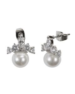 Tiara Pearl Earrings