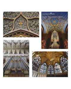 Inside Westminster Abbey Set of 8 Postcards