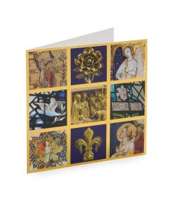 Nine Views of Westminster Abbey Christmas Cards Pack of 8