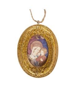 Banner of Our Lady Christmas Decoration