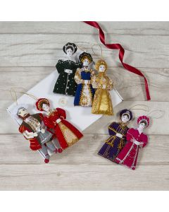Henry VIII and his Six Wives Decoration Set