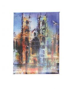 Westminster Abbey Collage Magnet