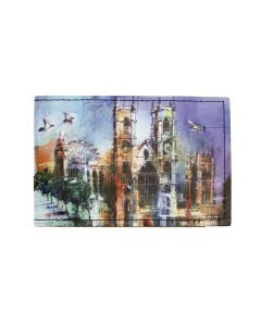 Westminster Abbey Collage Travel Card Holder