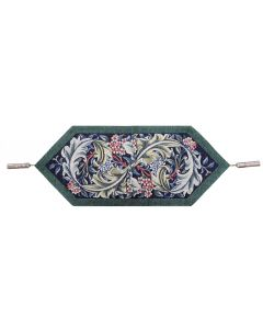 Acanthus and Flowers Tapestry Table Runner