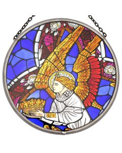 Westminster Abbey Angel with Crown Roundel