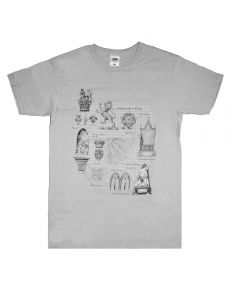 Westminster Abbey Architecture T-shirt