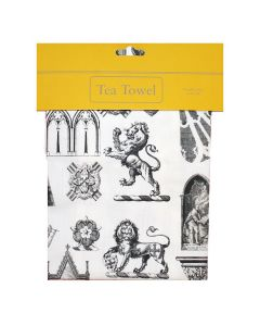 Westminster Abbey Architecture Tea Towel