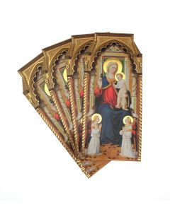 Altarpiece by Bicci di Lorenzo Christmas Card Pack