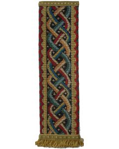 Celtic Knot Tapestry Bookmark