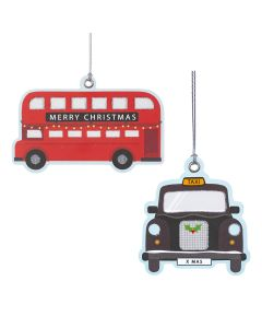 Bus & Taxi Tags