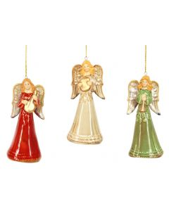 Ceramic Angel Christmas Tree Decoration