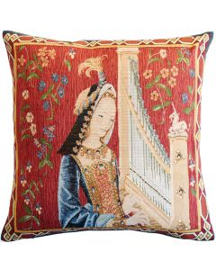 Sense of Hearing Tapestry Cushion Cover