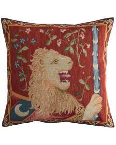 Cluny Lion Large Tapestry Cushion Cover