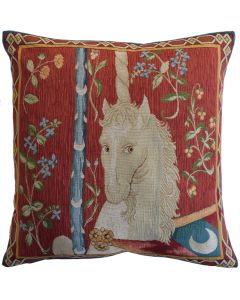 Cluny Unicorn Large Tapestry Cushion Cover