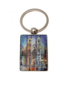 Westminster Abbey Collage Keyring