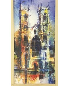 Westminster Abbey Collage Pencil Set