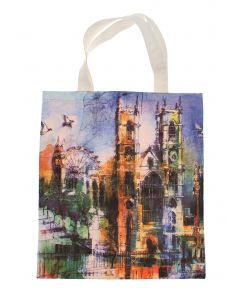 Collage Abbey Tote Bag
