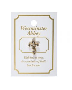 Westminster Abbey Cross Pin