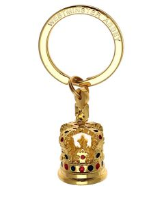 Model Crown Keyring