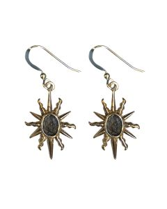 Elizabeth I Sunburst Earrings