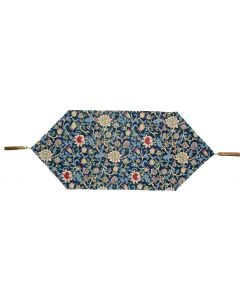Blue Evenlode Tapestry Table Runner
