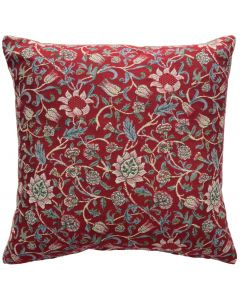 Red Evenlode Large Tapestry Cushion Cover