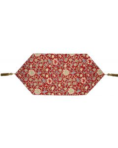 Red Evenlode Tapestry Table Runner