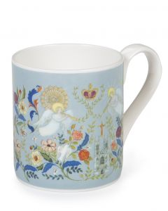 Floral Abbey China Mug