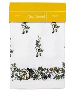 Westminster Abbey Garden Bird Tea Towel
