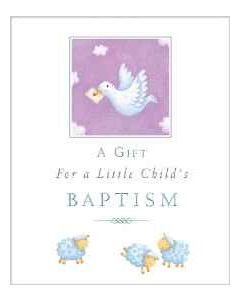 Gift for Little Child's Baptism