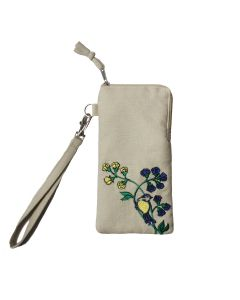 Westminster Abbey Garden Blue Tit Glasses Case