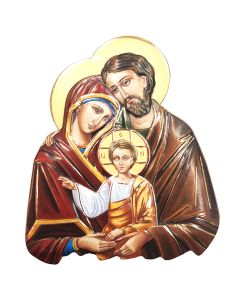 Holy Family Magnet Icon