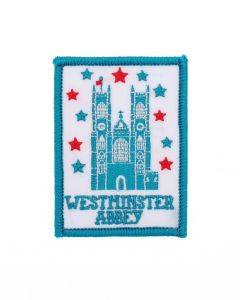Westminster Abbey London Icons Iron On Embroidered Patch