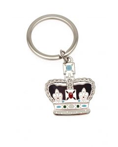 Imperial Crown Keyring