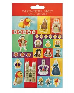 Westminster Abbey Kings & Queens Royal Stickers