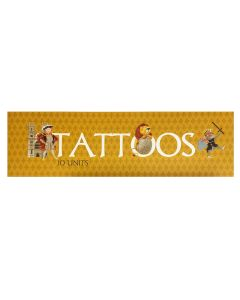 Westminster Abbey Kings & Queens Temporary Tattoos