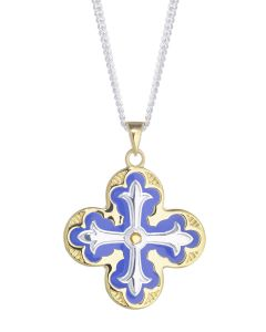 Lantern Cross Necklace