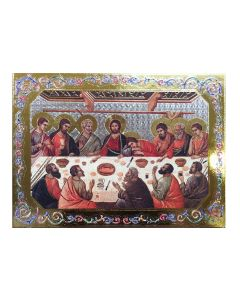 Last Supper Wood Plaque