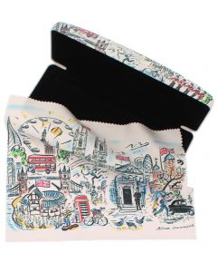 Westminster Abbey Scenes of London Glasses Case