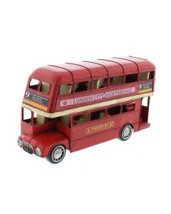 Large Red London Bus Ornament