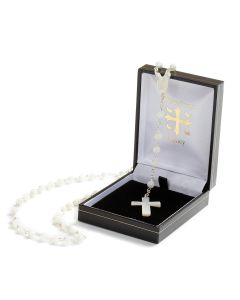 Mother of Pearl Christening Rosary