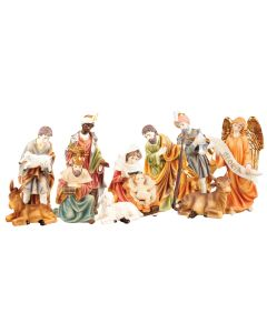 Nativity Set Resin