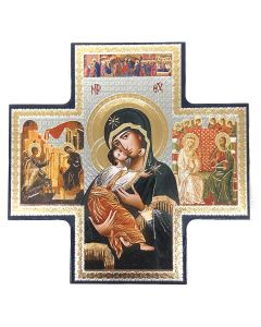Our Lady Cross Shaped Icon