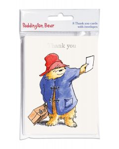 Paddington Bear Thank You Cards Set of 8