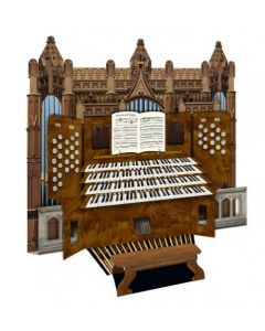 3D Organ Greetings Card